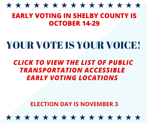 List of 2020 Early Voting Locations