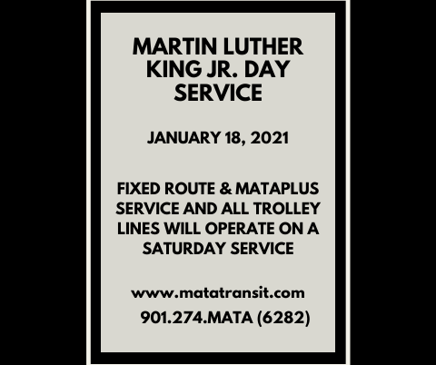 Martin Luther King Jr. Day Service